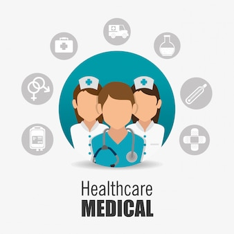 Conception de soins médicaux.
