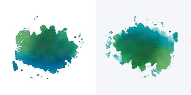 Conception de splash aquarelle