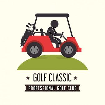 Conception de sport de golf