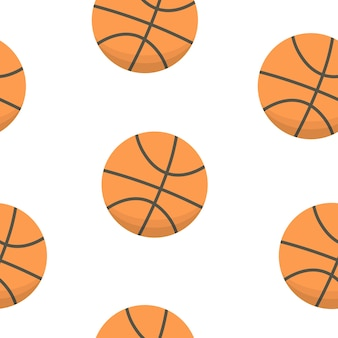 Conception de sport. modèle de boules de basket-ball.