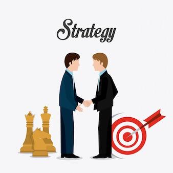 Conception de stratégie commerciale.