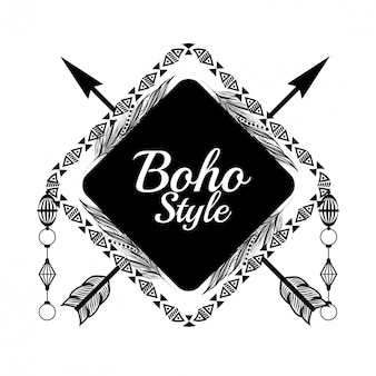 Conception de style boho