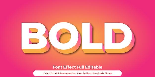 Conception de style graphique abstrait texte 3d