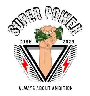 Conception de super puissance
