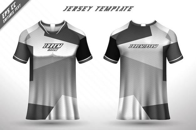Conception de t-shirt avant arrière conception sportive pour vecteur de maillot de jeu de cyclisme de course