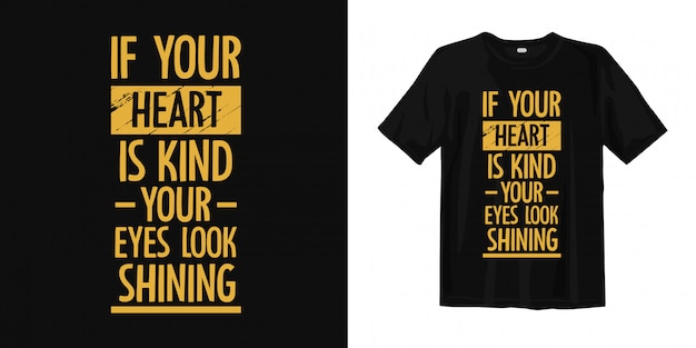 Conception de t-shirt de typographie de citations inspirantes