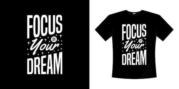 Conception de t-shirt de typographie de lettrage de motivation. lettrage style écrit à la main.