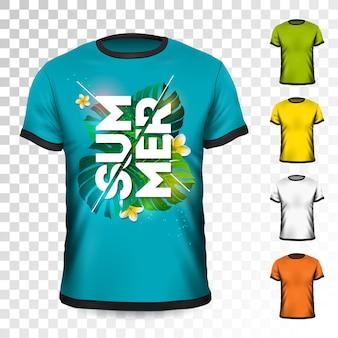 Conception de t-shirt de vacances d'été
