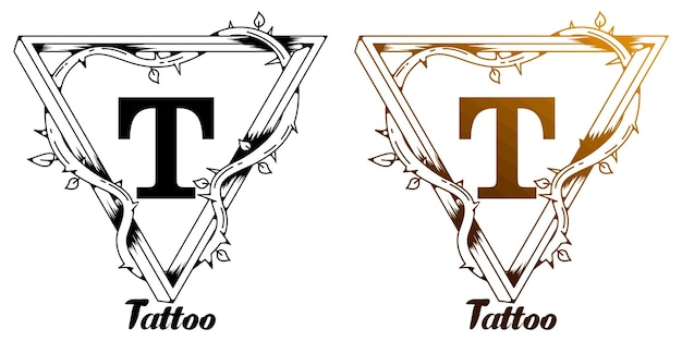 Conception de tatouage t