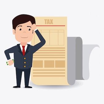 Conception des taxes.