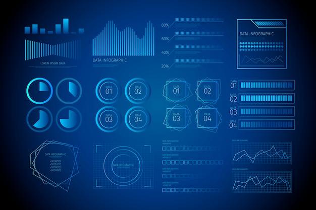 Conception de technologie infographique d'entreprise