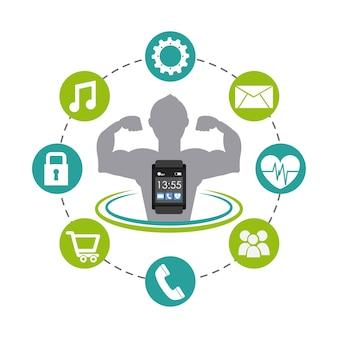 Conception de la technologie portable