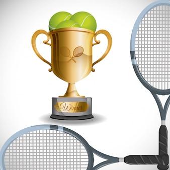 Conception de tennis