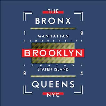 Conception de texte cadre typographie t-shirt