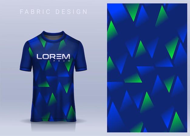Conception Textile En Tissu Pour Tshirt Maillot De Foot Vecteur Premium