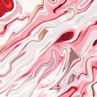 Conception de texture de marbre liquide, surface de marbrure colorée, conception de peinture abstraite dynamique
