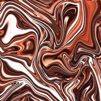 Conception de texture de marbre liquide, surface de persillage coloré, or, design de peinture abstraite dynamique