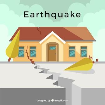 Conception de tremblement de terre