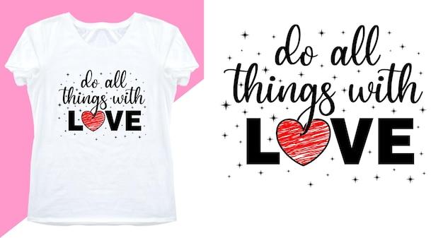 Conception de typographie pour t-shirt imprimé et plus
