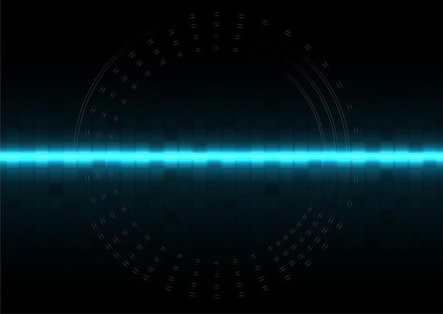 Conception de vecteur de fond abstrait technologie numérique système d'exploitation