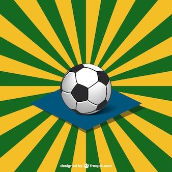 Conception vecteur football de coupe du monde