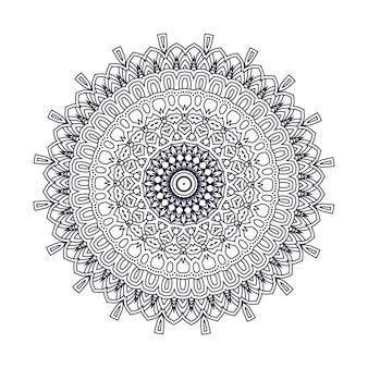 Conception de vecteur mandala indien