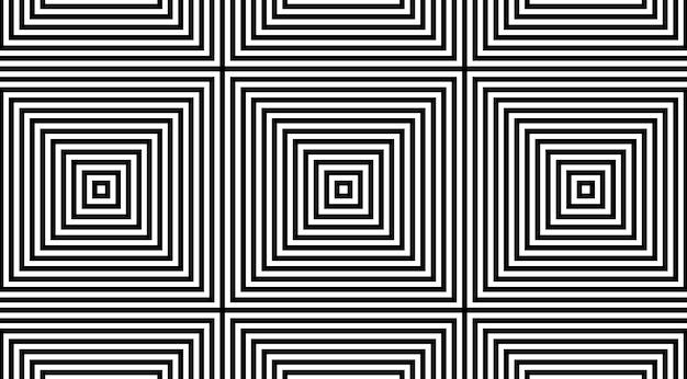 Conception de vecteur de motif géométrique entrelacs carré.