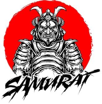 Conception de vecteur samouraï
