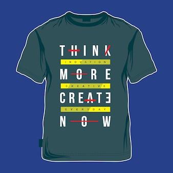 Conception de vecteur t shirt graphique