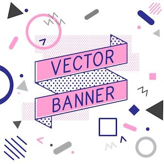 Conception de vecteurs bannière bannière