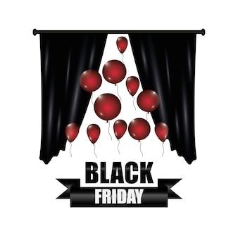 Conception de vendredi noir