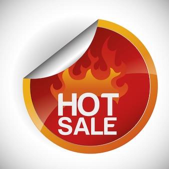 Conception de vente chaude