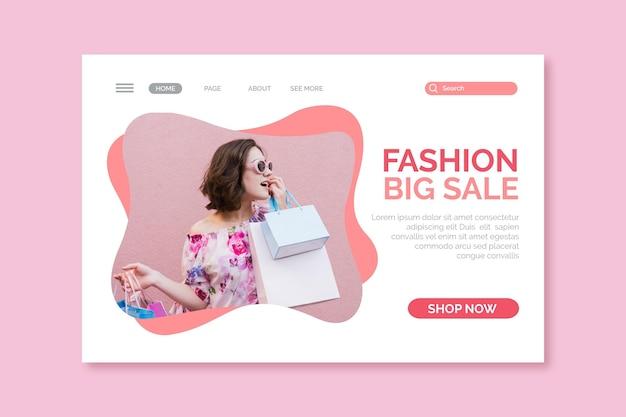 Conception de vente de mode