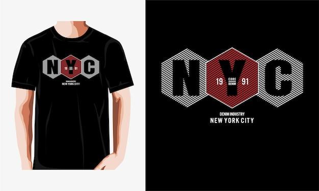 Conception de la ville de new york