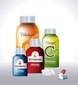 Conception de vitamines