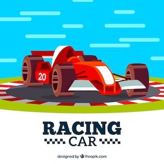 Conception de voiture de course