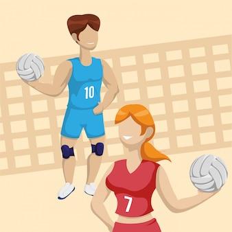 Conception de volley-ball