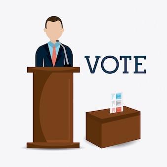 Conception de vote.