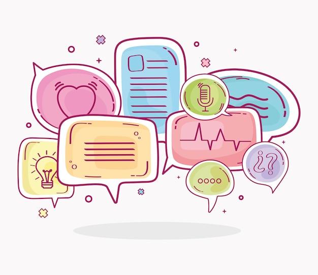 Conceptions de bulles de discours