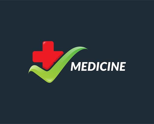 Conceptions de logo médical numérique