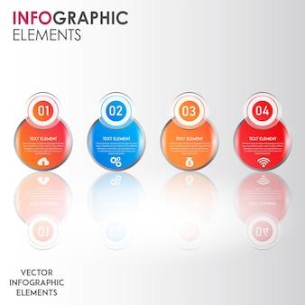 Conceptions de vecteur ingographics