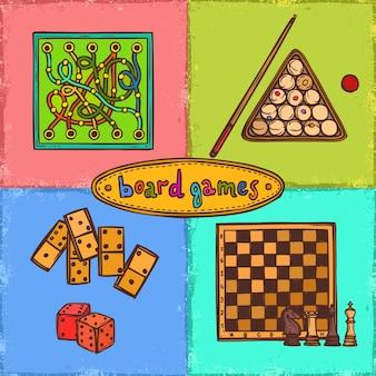 Concepts de croquis de jeu
