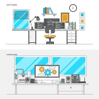 Concepts pour les logiciels et le matériel