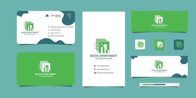 Concevez le logo et la carte de visite de votre livre de construction
