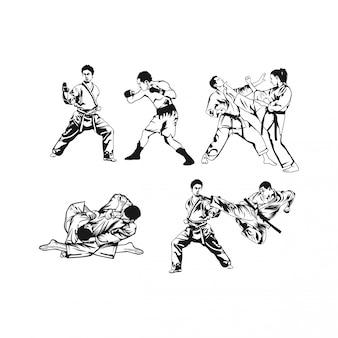 Concevoir les arts martiaux