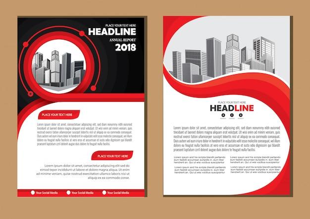 Concevoir la mise en page du rapport annuel pour l'entreprise