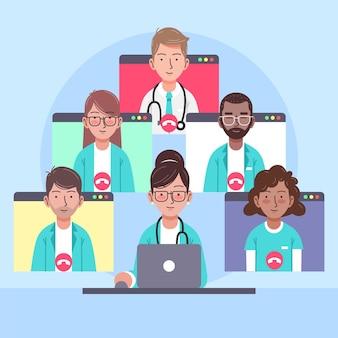 Conférence médicale en ligne