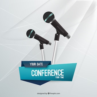 Conférence modèle de dépliant