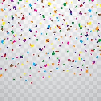 Confettis colorés