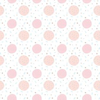 Confettis transparente motif abstrait moderne.